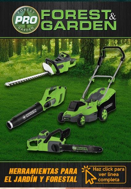 herramientas Forest and Garden